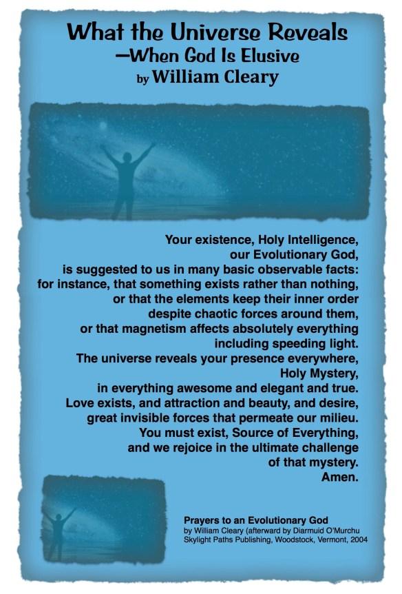 Universe Reveals O'Murchu pastordawn