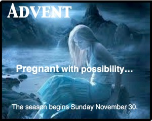 Advent pregnant2014 pastordawn