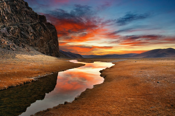Image result for streams in the desert
