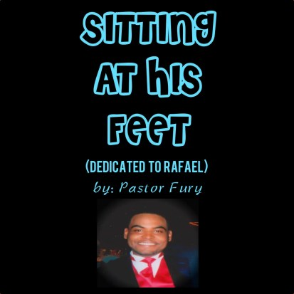 SITTING AT HIS FEET full COVER