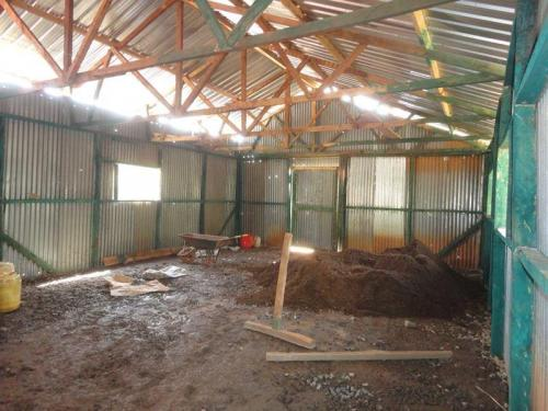 Church Construction - The Anointed of God Ministries Gitugi branch, Kenya
