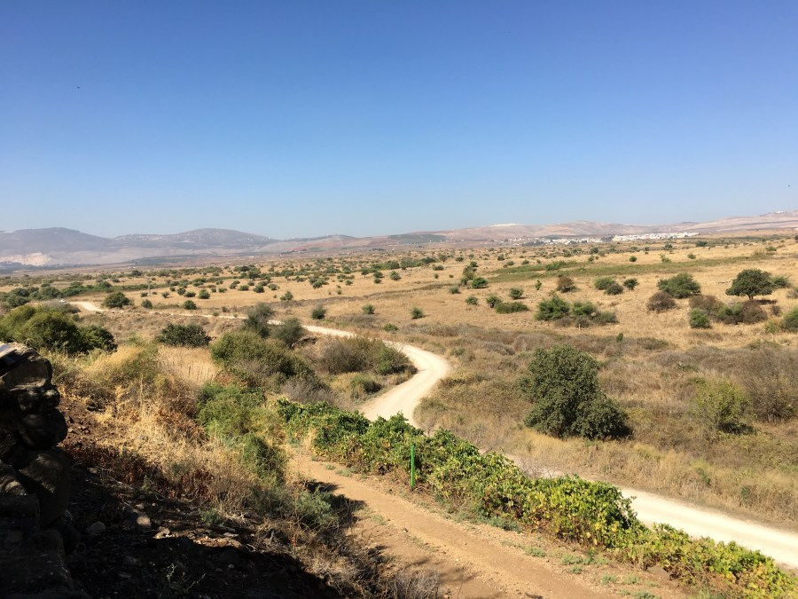 This road is now about 20 miles from the Israel/Syria border, but before 1967, the land on the other side of this road was Syria.  This demonstrates how exposed the Northern city of Dan was to foreign attack.