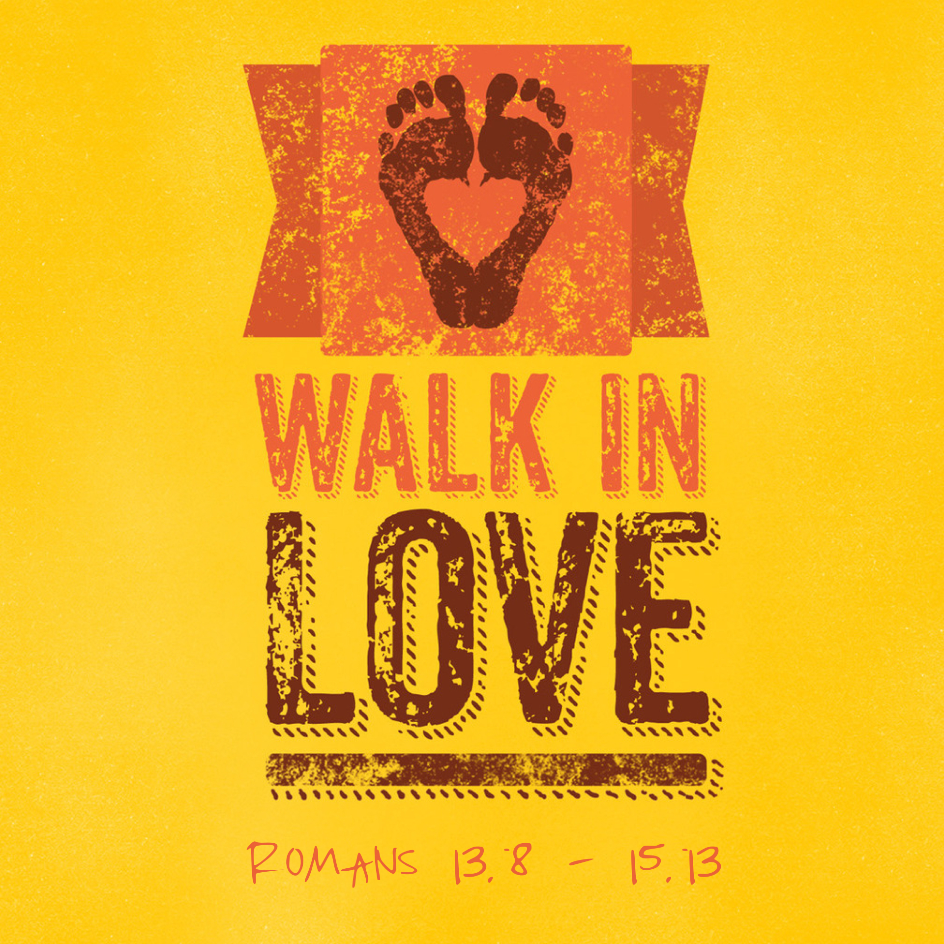 Walk in love stock image   Look and Learn