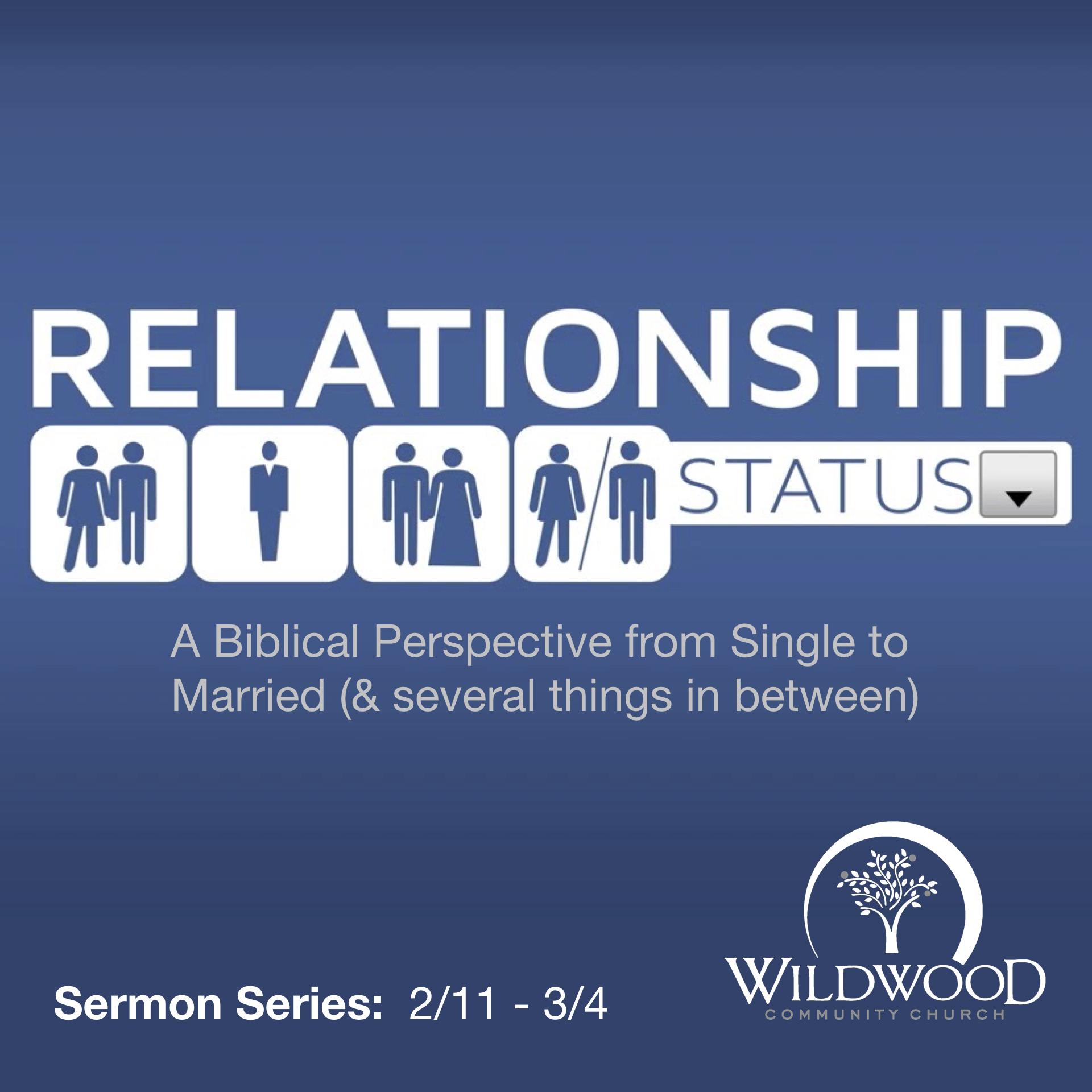 Relationship Status – Pastor Mark Robinson  com