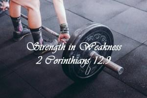 Lifting weights when weak