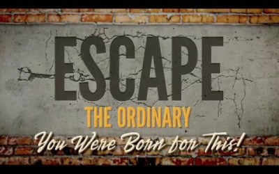 Escape The Ordinary from Bruce Wilkinson and Teach Every Nation