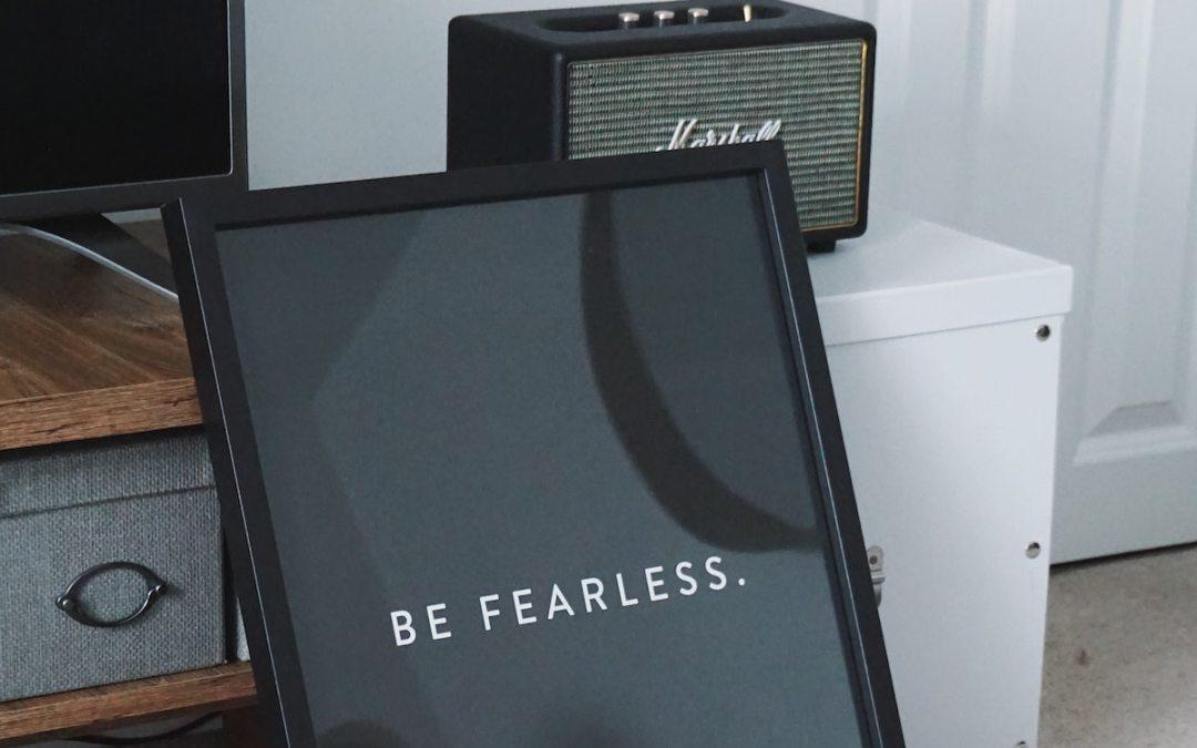 Faith and Fear Can't Co-Exist?