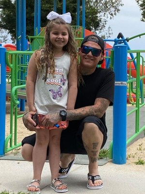 Bradley Chester_with daughter