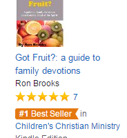 Got Fruit? Has been on top of the Amazon Best Seller list multiple times