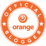 Orange blog logo