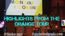 highlights from the orange tour
