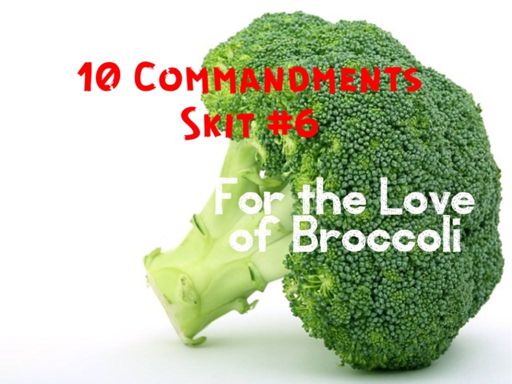 10 Commandments Skit: #1 The Rules - PastorRonBrooks