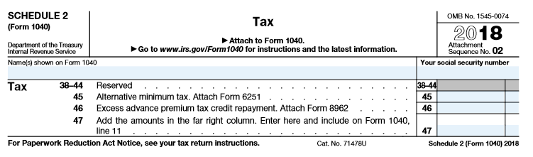The 2018 Form 1040 How It Looks What It Means For You The
