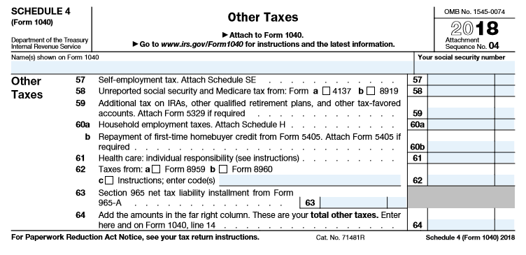 The 2018 Form 1040: How It Looks & What It Means For You - The