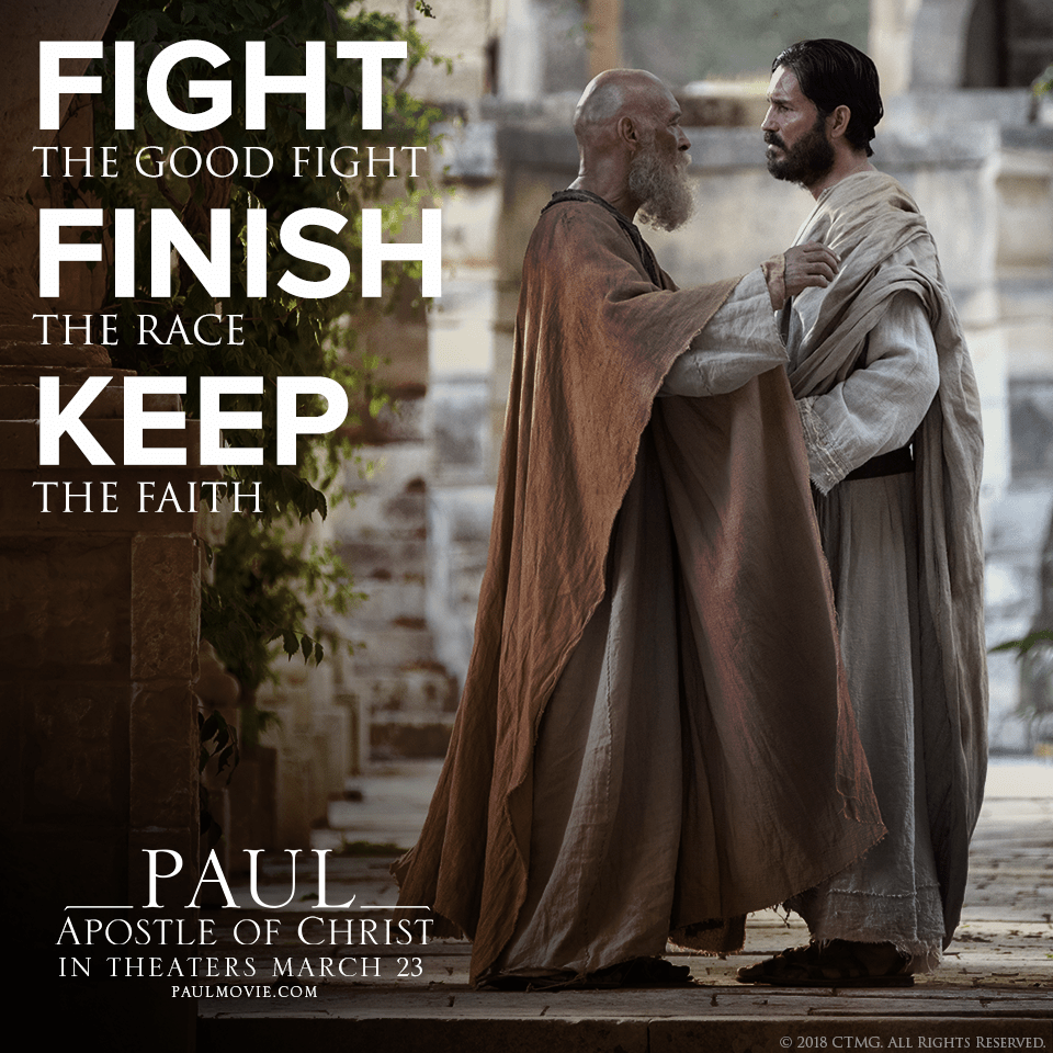 Paul Apostle Of Christ A Christian Movie Review Pastor Unlikely