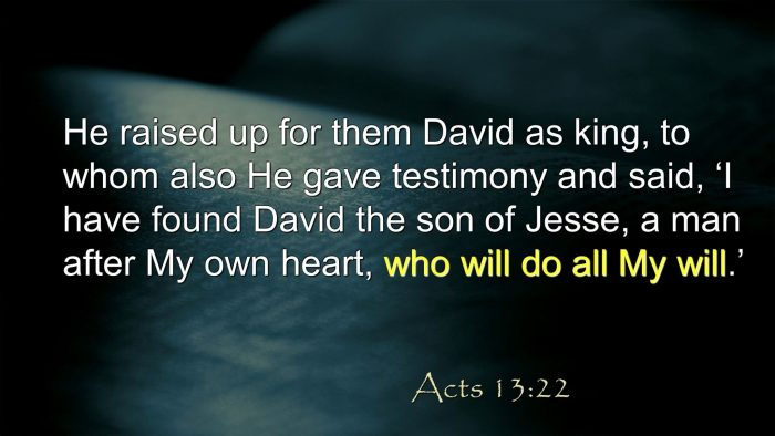 Why Was David Chosen as King Pastor Unlikely