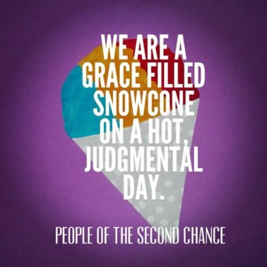 Grace Flavored Snow Cones Pastor Unlikely Top Christian Blog