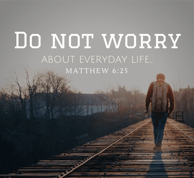 Worry Sermon Pastor Unlikely
