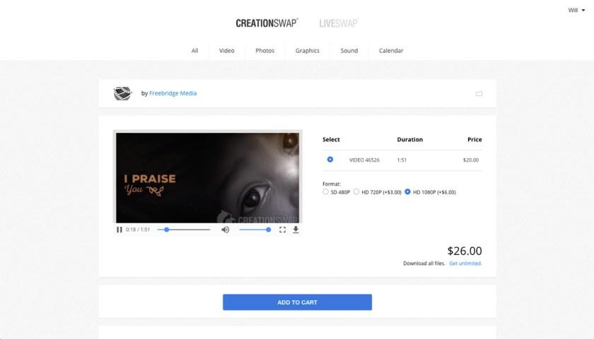 CreationSwap