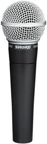Shure SM-58 for church podcasting.