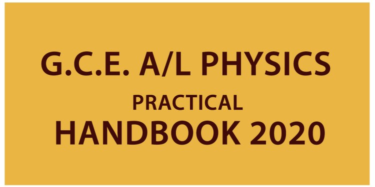 AL physics Practical Handbook 2020
