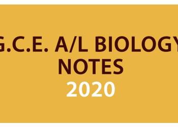 Advanced Level Biology Notes pdf