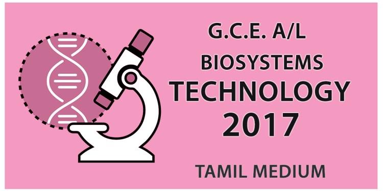 BioSystems Technology 2017 - Tamil Medium
