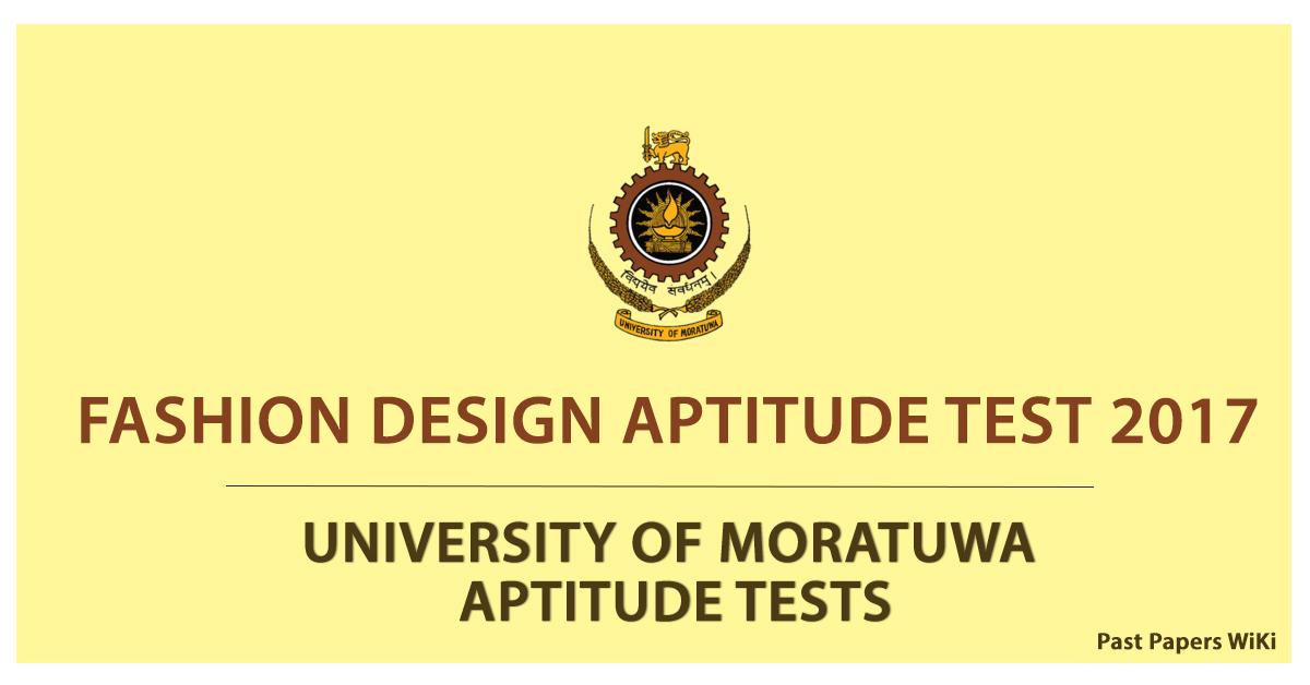 Fashion Design Aptitude Test 2017 University Of Moratuwa