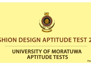 Fashion Design Aptitude Test 2018