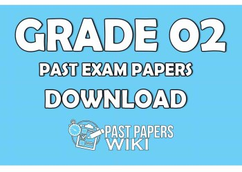 Grade 02 Past Exam Papers