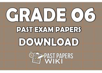 Grade 06 Past Exam Papers
