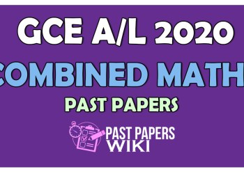 2020 A/L Combined Maths Past Paper and Answers - PastPapers.WIKI