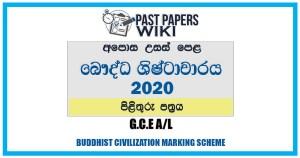 A/L BC Marking Scheme In Sinhala Medium
