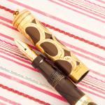 parker lucky curve gold filigree basket fountain pen pk001 v