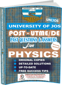UNIJOS Past UTME Questions for PHYSICS