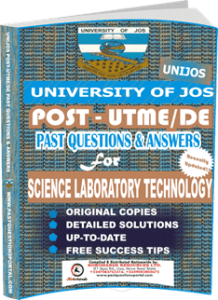 UNIJOS Past UTME Questions for SCIENCE LABORATORY TECHNOLOGY