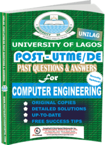 UNILAG Past UTME Questions for COMPUTER ENGINEERING