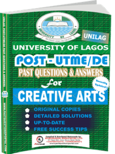UNILAG Past UTME Questions for CREATIVE ARTS