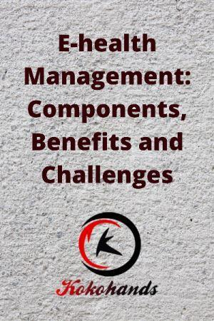 E-health Management Components, Benefits and Challenges
