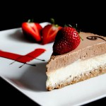 {Chocolate Mousse Cheesecake} – Cheesecake cu mousse de ciocolata