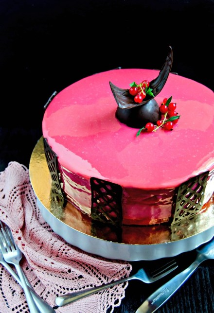 rice berry entremet