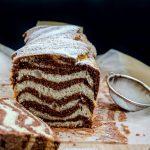 marbled loaf cake