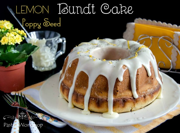 lemon poppy seed bundt cake