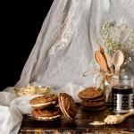 {Peanut Butter Sandwich Cookies} – Fursecuri cu ciocolata si unt de arahide