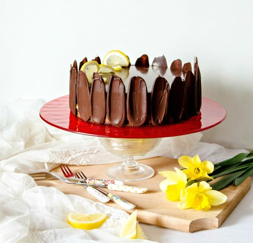 chocolate lemon cake