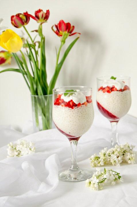berry tapioca pudding