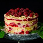 Raspberry Lemonade Cake – Tort cu zmeura si lamaie