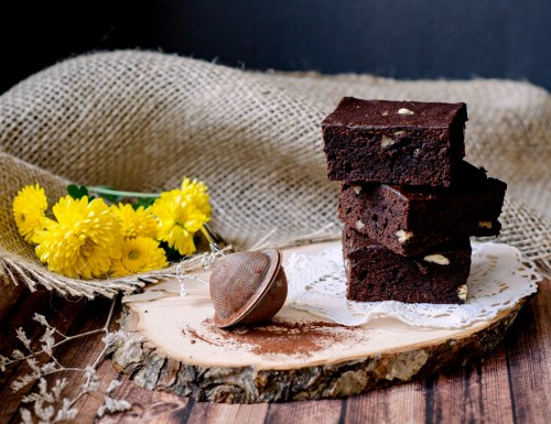 Nigella's everyday brownies