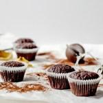 {Vegan Chocolate Muffins} – Muffins de post cu ciocolata
