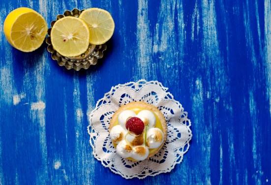 lemon coconut tartlets